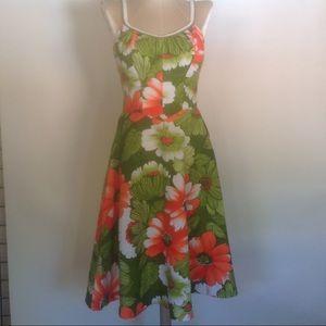 "Vintage ""De Weese Design"" 60's sun dress"